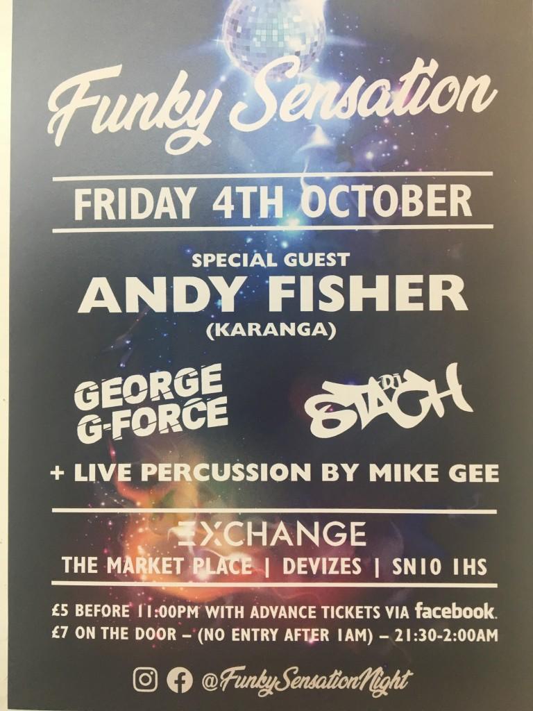 Fubky sensation 4th oct