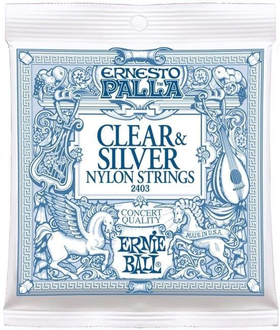 Ernie Ball Clear and Silver