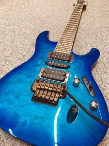 Ibanez S blue