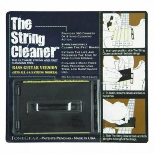 The string cleaner bass
