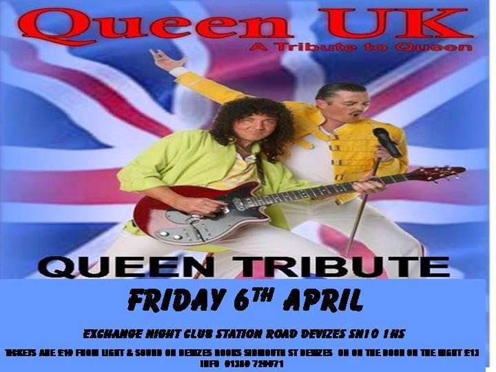 Queen Tribute - Devizes - Wiltshire